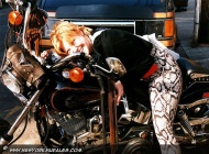 Bikers in bronx and Harley-Davidson | Harley-Davidson | New York Murales