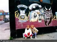 Murales of bikers in bronx | The gang's murales | New York Murales