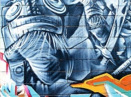 A murales about the movie The Planet of the Apes | Planet of the Apes | New York Murales