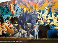 A view of New York City | NYC | New York Murales