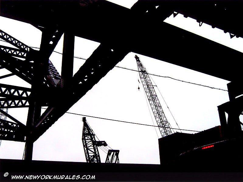 A bridge structure