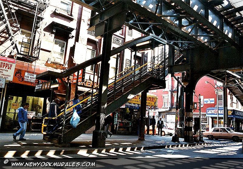 Detail of Last Stop Brooklyn