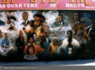 A wall with so many black famous people | Famous black people | New York Murales