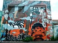 A strange murales | Bubble | New York Murales