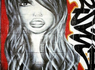 A face   Face   New York Murales