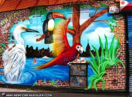 Like being in a forest...   The forest   New York Murales