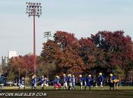 A football training in a park near Bedford Street | Football training | New York Murales