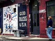 God bless USA   God bless USA   New York Murales