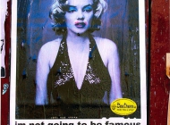 Marilyn and the brutal reality   Marilyn of today   New York Murales