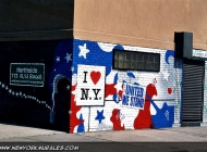 I love New York more than ever.In memory of 11/9   In memory of 11/9   New York Murales