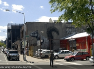 A squirrel made by the most famous murales artist in the world, Bansky (Brooklyn) New York Murales