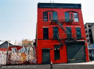A nice Red House | Red House | New York Murales