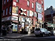 Advertising on a house near Bedford Avenue | Near Bedford Avenue | New York Murales