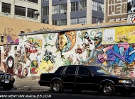A wall near Bedford Avenue | Near Bedford Avenue | New York Murales