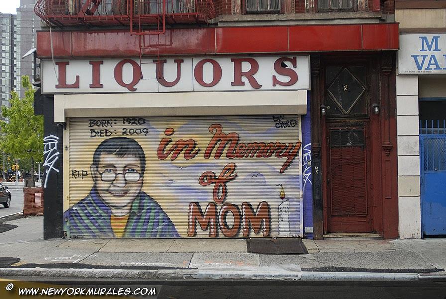 In memory of Mum