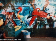 Murales in Lower East Side | Forest | New York Murales