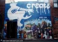 A murales to promote the Ecko community in the web (East Side) New York Murales