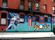 Another murales about Loisaida Sports' shop | Loisaida | New York Murales