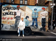 Murales in Harlem guardian angels (Harlem) New York Murales