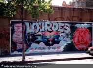 Murales in Harlem in memory of Lourdes (Harlem) New York Murales