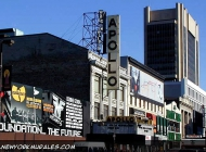 The Apollo Theatre  (Harlem) New York Murales