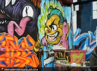 Cartoon slyle murales | Long Island | 5 Pointz | New York Murales