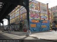 5 Pointz taken from under the subway rails | Long Island | 5 Pointz | New York Murales
