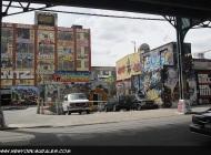 5 Pointz taken from under the subway rail   Long Island   5 Pointz   New York Murales