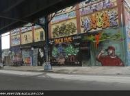 5 Pointz taken from under the subway rail | Long Island | 5 Pointz | New York Murales