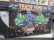 Train Fame | Long Island | 5 Pointz | New York Murales