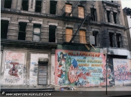Italian people killed in America by the drug (Rip) New York Murales