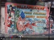 Italian people killed in America by the drug | 1000 Americhe | New York Murales