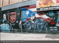 Big Punisher and Fat Joe, two famous rappers (Rip) New York Murales