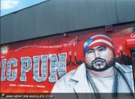 Known early in his career as Big Moon Dog, Big Pun was once an avid basketball player and boxer, but later said he took to eating until he couldn't tie his shoelaces. The rap world started to take the notice of Rios - whose stage name was short for Big Punisher - after appearance with fellow rapper Fat Joe. Later he played with the group Terror Squad (Rip) New York Murales