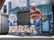 In memory of Karla (Rip) New York Murales