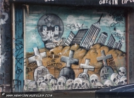 In memory of Satch, whose name was later changed in Satan | Satch | New York Murales