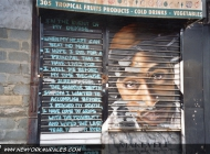 In memory of one of the best rapper the world has even known: Tupac (1971-1996) | Tupac | New York Murales
