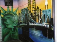 Murales in Soho | Discoteque | New York Murales