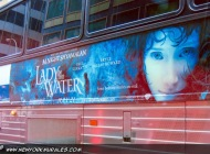 Advertising for the movie Lady in the water (Various) New York Murales