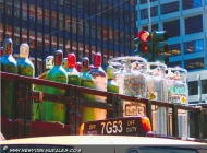 A truck trasporting bottle and oxygen (Various) New York Murales