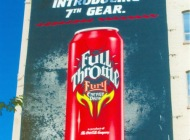 Advertising about Full Throttle (Various) New York Murales