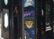 Murales in greenwich village west side new york city gay | Door | New York Murales