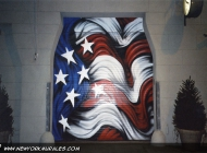Murales in greenwich village west side new york city | Door | New York Murales